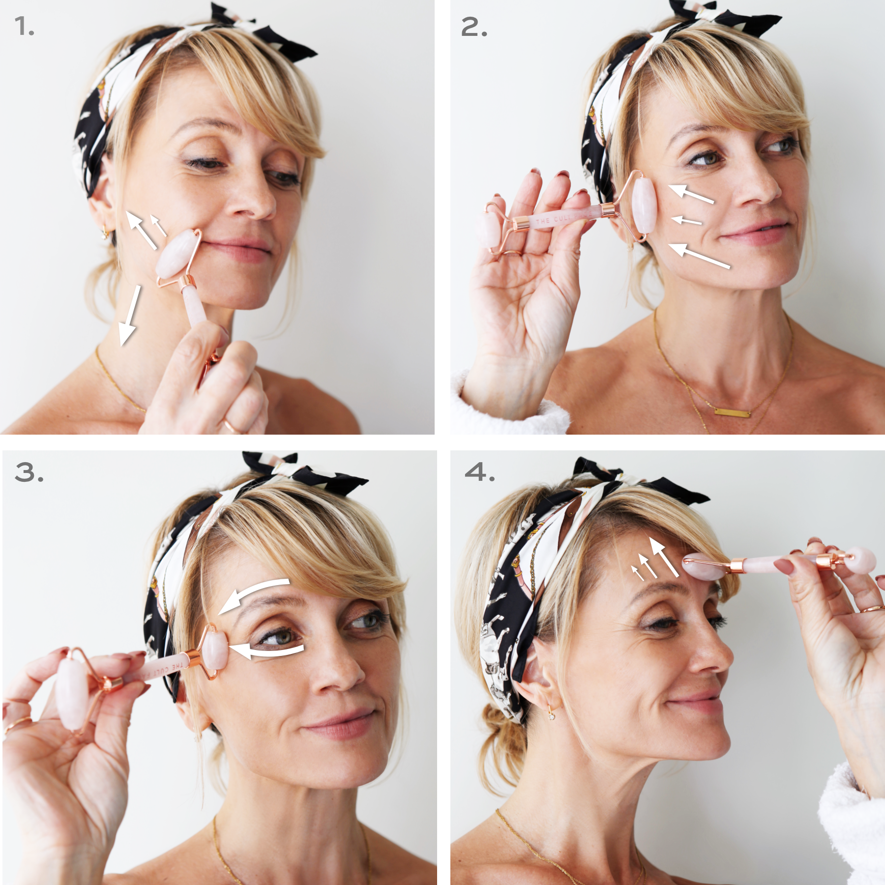 how to use face rollers