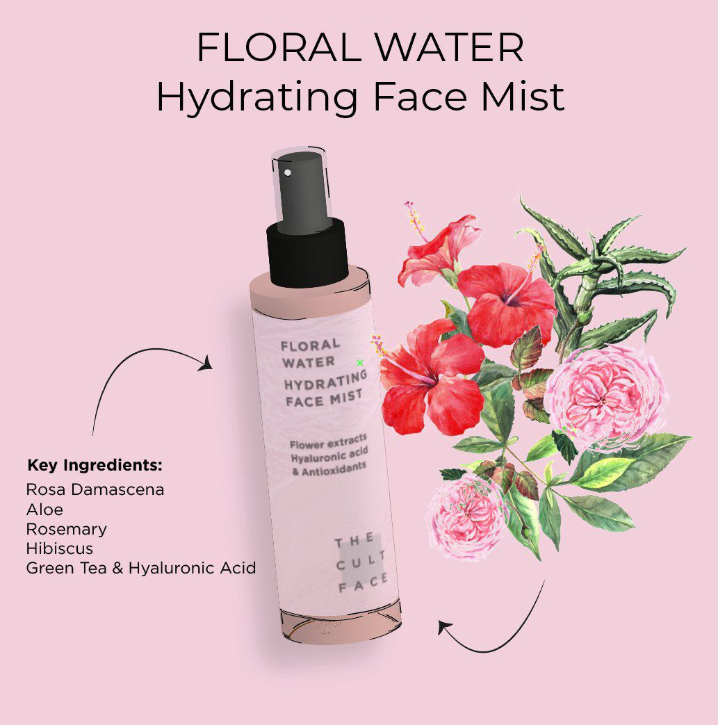 the cultface floral water