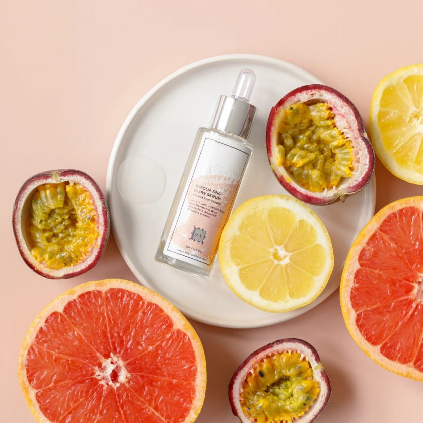 Exfoliating Overnight Glow Serum with 15% Natural Fruit AHA Complex 1